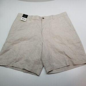NWT Claiborne S-Essentials Shorts Linen/Cotton